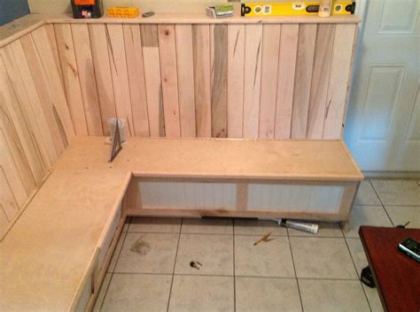 how to build a kitchen nook bench woodworking plans kitchen nook online woodworking plans