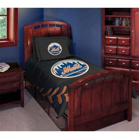 new york mets comforter set twin bed by northwest 79