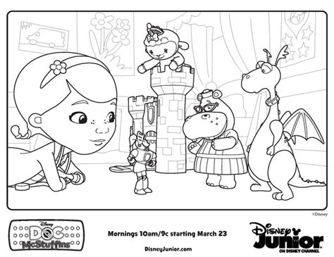 printable coloring pages doc mcstuffins doctor mcstuffins coloring pages doc mcstuffins playroom