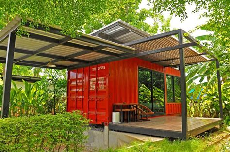 montainer shipping container  tiny cabin conversions