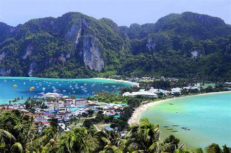 islands  thailand   map touropia