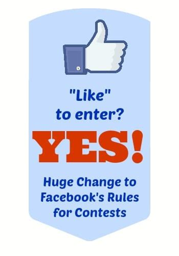 Facebook Sweepstakes Rules - finally a facebook update worth quot liking quot