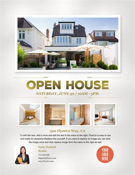 design a real home online create beautiful real estate flyers to download print and