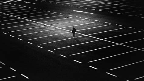 Sv3547 St Black And White free images black and white technology road floor number parking line