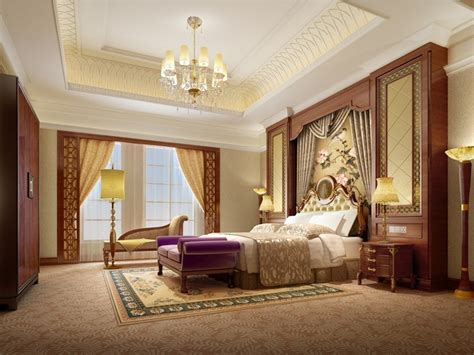 european and style luxury bedroom interior design