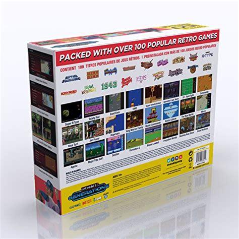 retro bit generations plug play game console redblack retro games buy uae video game products uae