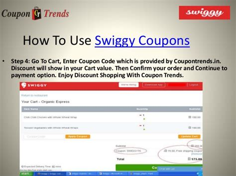 coupons for swiggy