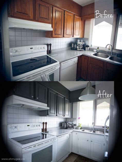 kitchen cabinets reno diy painting wood cabinets kitchen cupboard reno part