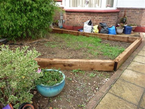 our front garden rev garden picket fencing