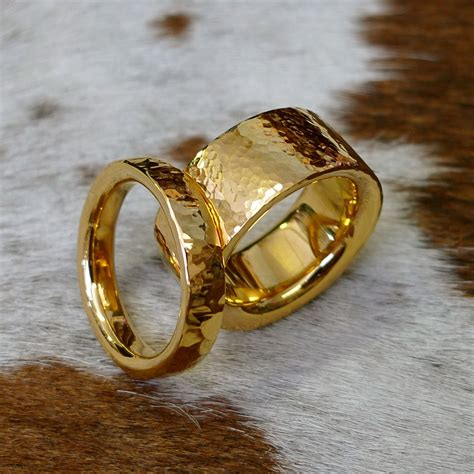 Handcrafted Gold Rings - how to commission a handmade wedding ring