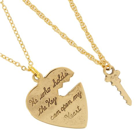 key to my pendant pendant key to my sweetheart necklace small couples