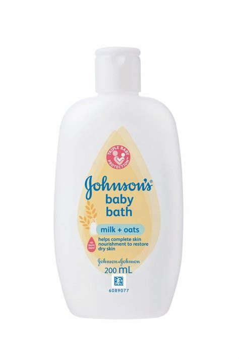 Johnsons Milk Bath baby care products from johnson s 174