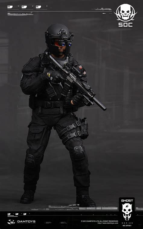 preview dam toys ghost series 1 6 special ops center glint