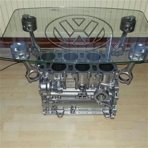 A Perfect Vr6 Engine Block Being Humiliated As A Coffee Engine Block Coffee Tables
