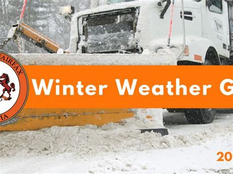 News Roundup Government Grants Run And Winter Arrives In Britain by Winter Weather Guide Arrives From Fairfax County Burke