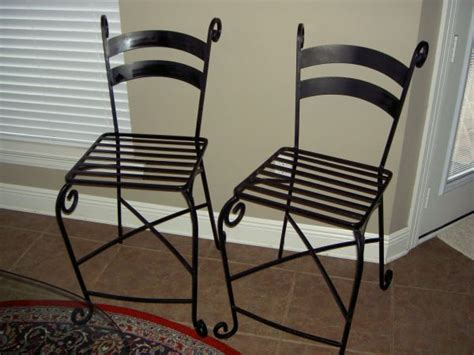 Pier 1 Wrought Iron Bar Stools wrought iron bar stools pier 1 for sale