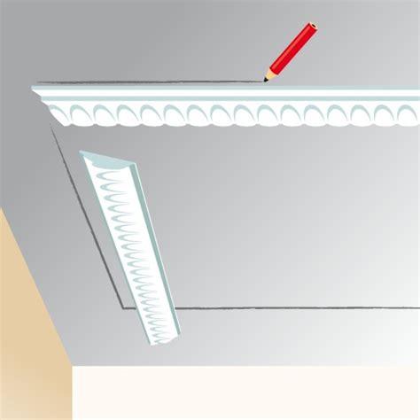Pose Corniche Plafond Angle by Poser Des Moulures Au Plafond Ooreka
