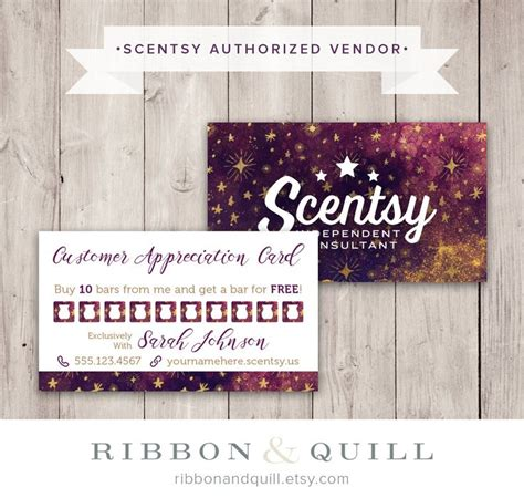 scentsy frequent buyer card template 67 best thirty one scentsy business cards images on