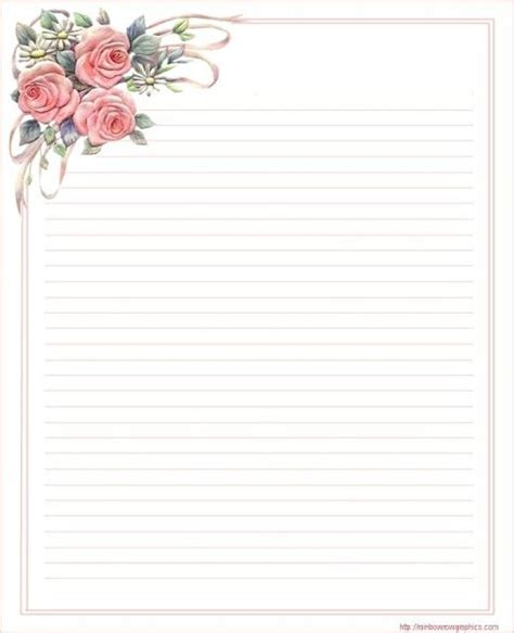free printable stationary with roses 139 best images about mother s day stationery on pinterest