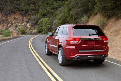 jeep grand cherokee srt the most powerful and fastest