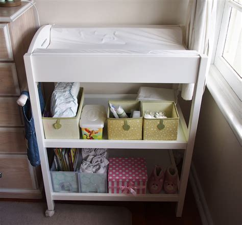 Change Table Storage S Linen Change Table Storage Ideas Changing Tables With Storage