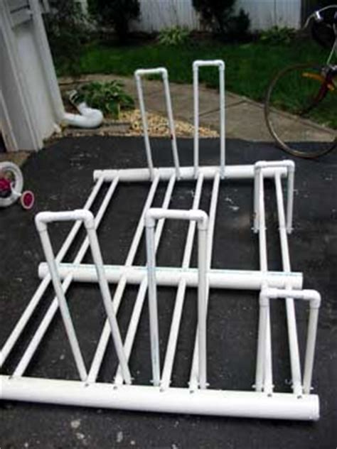 building a pvc bike rack for the pop up