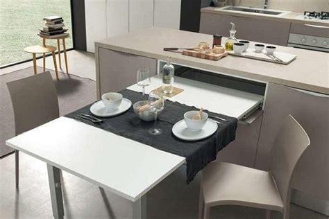cucine con tavoli estraibili penisola estraibile in cucina