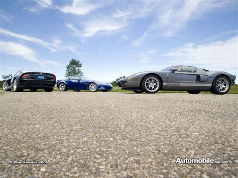 Ford Gt Vs Corvette by Ford Gt40 Vs Corvette Z06