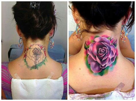 cute cover up tattoos watercolor cover up