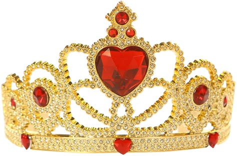 Red and Gold Princess Child Tiara   BuyCostumes.com