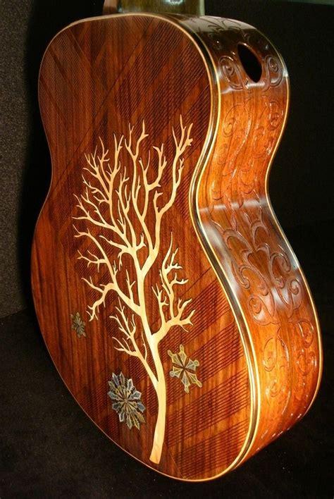 Handmade Custom Guitars - handmade blueberry quot winter quot acoustic guitar by blueberry