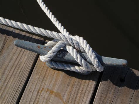 heavy boat rope boat rope tie down stock image image of heavy continuous