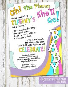 oh baby the places you ll go oh the places you ll go baby shower invitations iidaemilia