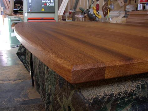 National Countertop by National Butcher Block Iroko Countertop National Butcher