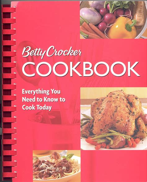 Pdf Betty Crocker Cookbook 12th Everything by Betty Crocker S Cookbook 10th Edition Paperback With
