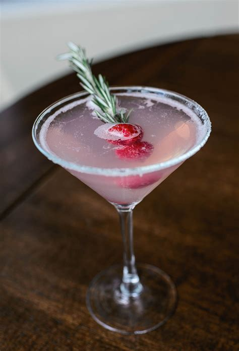 Drink Of The Week Mistletoe Martini From Davio S Boston