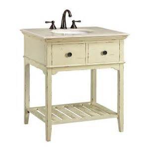 White Vanity Home Depot Home Decorators Collection Spencer 30 In W Vanity In