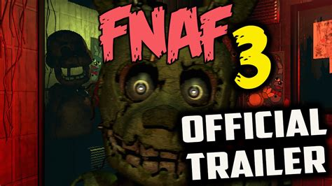 s day trailer official five nights at freddy s 3 trailer reaction the