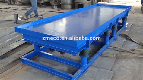 high quality concrete vibration table