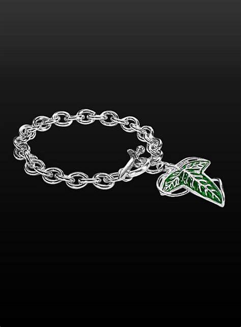 Leaf Charm 2 In 1 Bracelet by Elven Leaf Charm Bracelet
