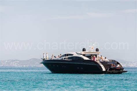 bluewater boat company sunseeker 82 predator luxurious charter yacht in ibiza