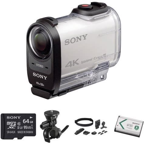 Fdr X1000v sony fdr x1000v 4k bicycle kit b h photo