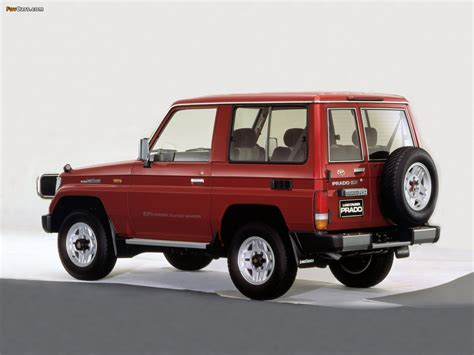 96 Toyota Land Cruiser Toyota Land Cruiser Prado Lj71g 1990 96 Wallpapers