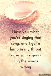 Popular Love Song Quotes by 7 Beautiful Love Quotes From The Best Unknown Love Songs