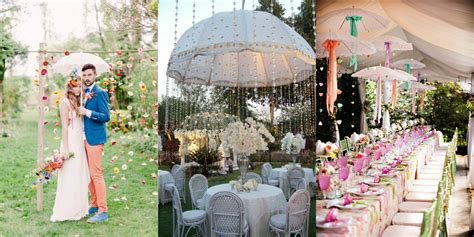 Wedding Aisle Umbrella by Appealing Wedding Decoration Ideas With Umbrella