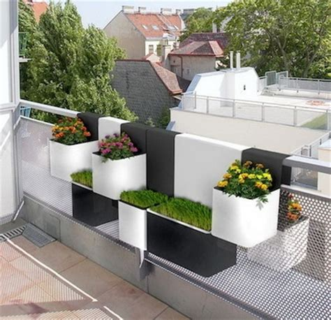 Planters Modern by Interior Decoration Ideas For Balconies Big Small