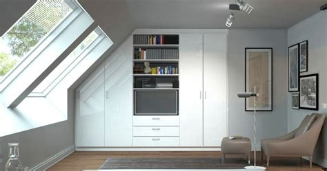 bett dachschräge schlafzimmereinrichtung modern