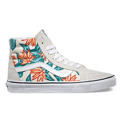 vintage aloha sk8 hi reissue shop classic shoes at vans