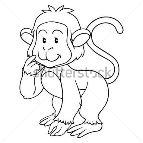 Coloring Book Monkey by Coloring Book Monkey Stock Vector 365psd