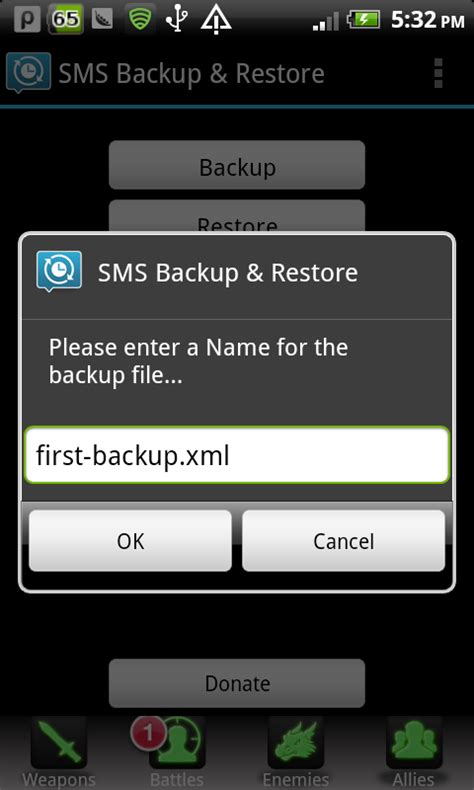 backup and restore android how to backup and restore sms messages on android device